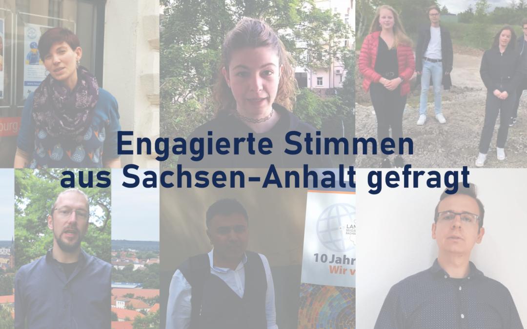 Video-Aktion mit engagierten Stimmen aus Sachsen-Anhalt